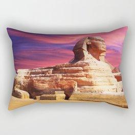 Great Sphinx of Giza, Egypt Rectangular Pillow