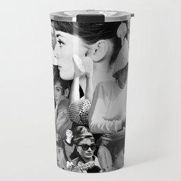 Audrey Hepburn Montage 1 Travel Mug