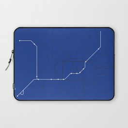 London Underground Piccadilly Line Route Tube Map Laptop Sleeve