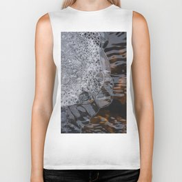 Abstract face. Biker Tank