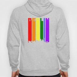 Berlin Gay Pride Rainbow Cityscape Hoody