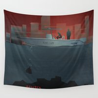 dexter Wall Tapestries featuring DEXTER by ketizoloto