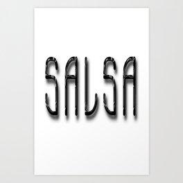Salsa A La Bambino Art Print