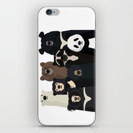 Bears of the world iPhone Skin