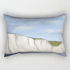 The White Cliffs Rectangular Pillow