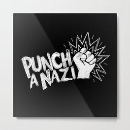 Punch a... Metal Print