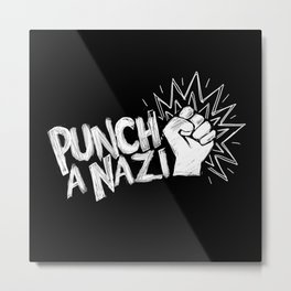 Punch a... Metal Print