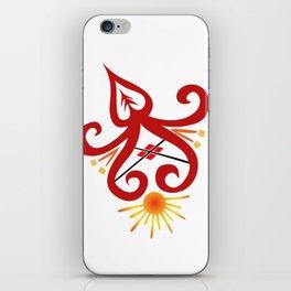 Fire Sprite iPhone Skin
