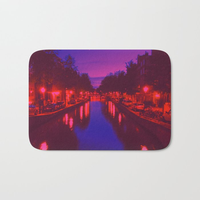 Psychedelic Amsterdam Bath Mat