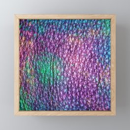 Northern Lights Eclipse Abstract Framed Mini Art Print