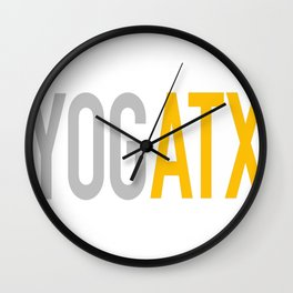 YOGATX Wall Clock