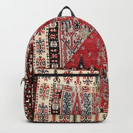 Erzurum  Antique East Anatolian Niche Kilim Backpack