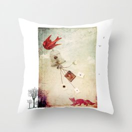 The Price of Freedom Throw Pillow