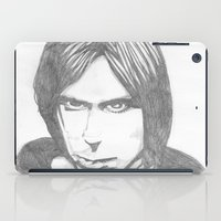 iggy iPad Cases featuring Iggy Pop - Sketch by Hey!Roger