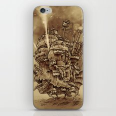 Moving Castle iPhone & iPod Skin