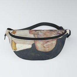 "Egon Schiele ""Self-Portrait with Physalis"" Fanny Pack"