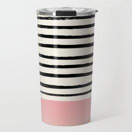 Blush x Stripes Travel Mug
