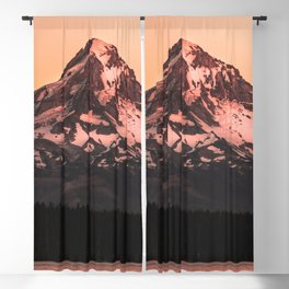 Mt Hood Adventure - 102/365 Nature Photography Blackout Curtain