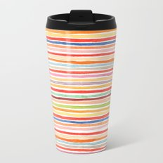 Robayre Watercolor Lines Travel Mug