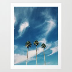 West Coast Art Print
