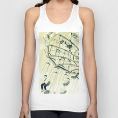 I can touch the sky Unisex Tank Top