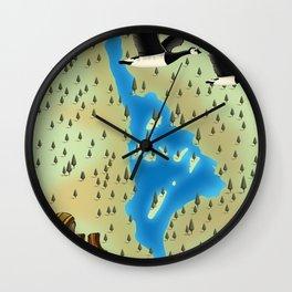 Loch Lomond,Trossachs, Scotland, Wall Clock