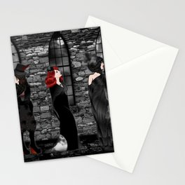 Queens of Goth Stationery Cards