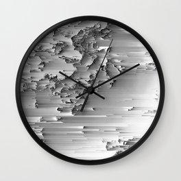 Japanese Glitch Art No.2 Wall Clock