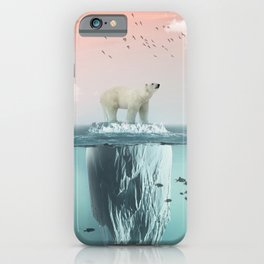 Polar Bear Iceberg iPhone Case