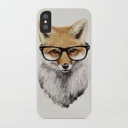 Mr. Fox iPhone Case