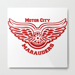 Motor City Snitch Metal Print