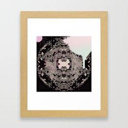 KALEIDO KOLOR SPLASH  Framed Art Print