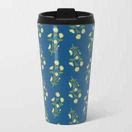 Floral pattern #1 Travel Mug