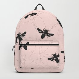 Bee Dance on Pink - Mix & Match With Simplicity of Life Backpack