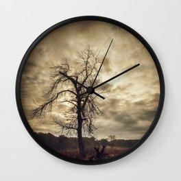 Angel Down Wall Clock