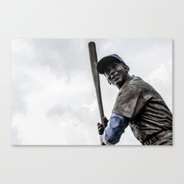 Ernie Banks Statue - Wrigley Field Canvas Print