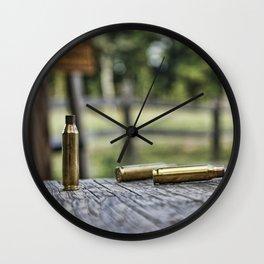 Empty Shell Wall Clock