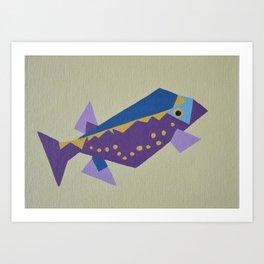boxfish Art Print