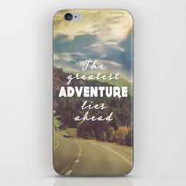 The Greatest Adventure iPhone Skin