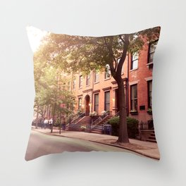 Brooklyn Heights neighborhood take me back Throw Pillow