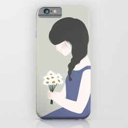 April showers bring May flowers iPhone Case