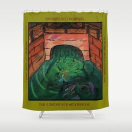 Canals Make Me Feel Eerie Shower Curtain