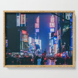 Time Square Serving Tray