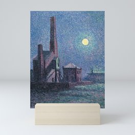 Factory in the Moonlight by Maximilien Luce, 1898 Mini Art Print