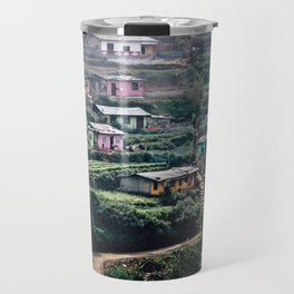 Sri Lankan Town Travel Mug
