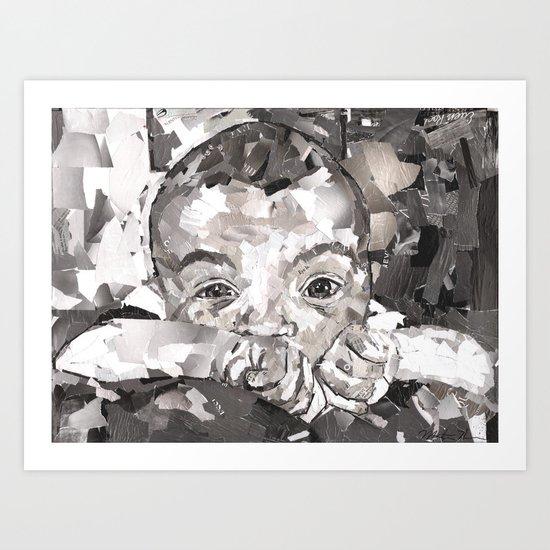 Baby Xander Art Print