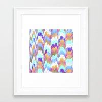 glitch Framed Art Prints featuring Glitch by Elisabeth Fredriksson