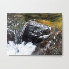 WV Creek Metal Print