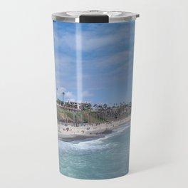 San Clemente Beach Travel Mug
