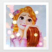 Rapunzel Art Print